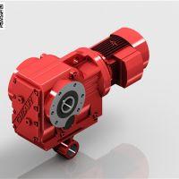 新郑KAT67螺旋锥齿轮减速机,带扭力臂减速机暑假大促销