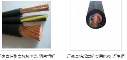 恒好专业销售起重电葫芦电缆