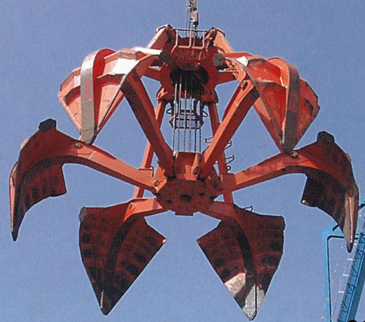 普洱起重机-多半用抓斗起重配件生产18288723404