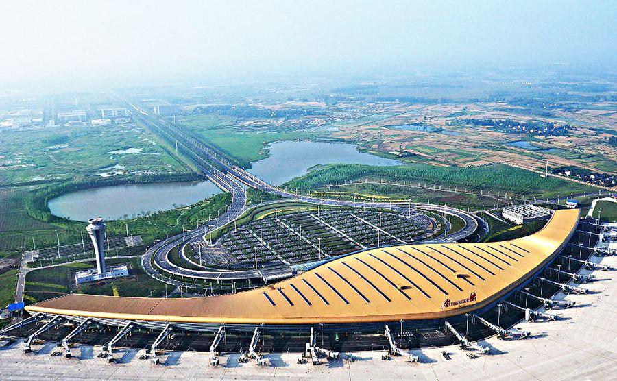 合肥新桥机场启动二期