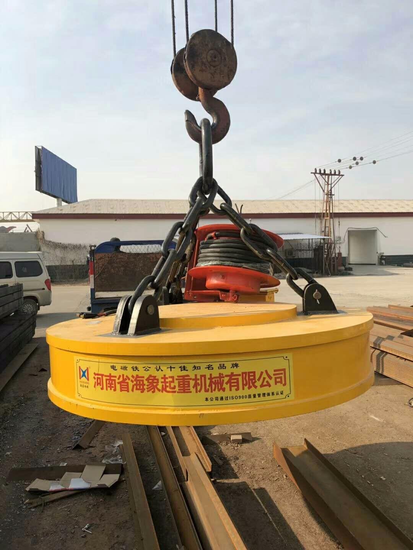 云南普洱起重机电磁吸盘专业销售18288723404