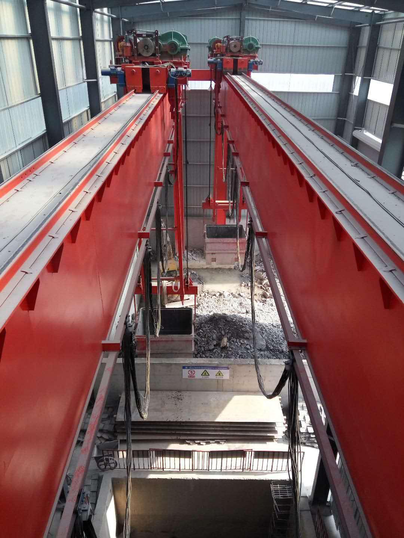 豫新公司16T桥式起重机