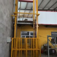 专注生产液压导轨货梯