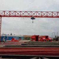 出售2台二手花架龙门吊跨度26米,无外宣,有效高度9米