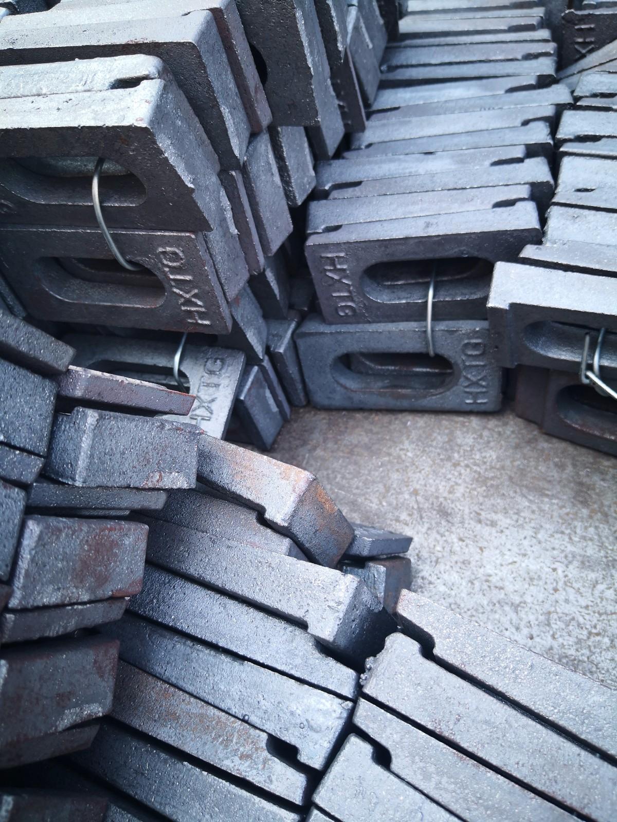 新乡宏鑫压轨器夹板压板有大量库存急售13262187779