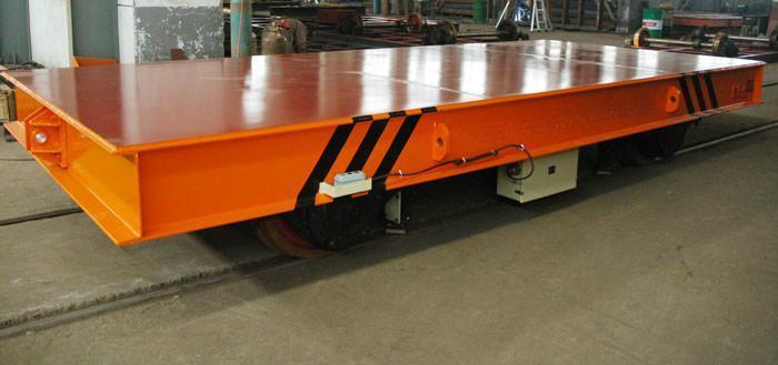 河南桔子起重专业生产大吨位电动平车
