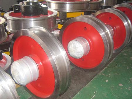 苏州供应起重机行车使用各种型号行车轮