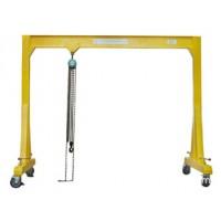 青岛专业生产手推式移动式龙门吊架