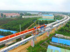 董家口港区疏港铁路全线贯通 年底与新建青连铁路同步开通!