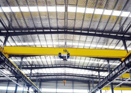 哈尔滨起重机销售鸡西欧式单梁起重机13613675483