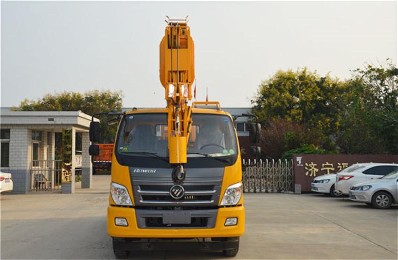【首付30%】全新福田16吨吊车 16吨汽车起重机 可挂牌