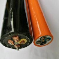 轮式扒矿机电缆行车转筒电缆4X10+6X2.5