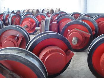 齐齐哈尔起重机齐齐哈尔行车配件车轮组13613675483