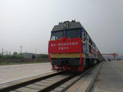 中铁十局承改建烟台(福山)铁路物流基地四电工程圆满开通