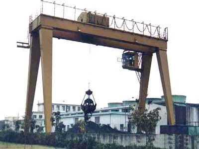 福州双梁抓斗门式起重机专业厂家