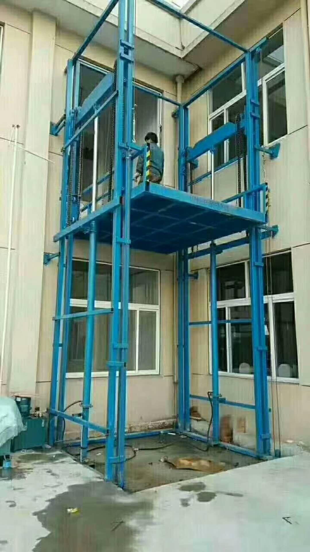 西藏導軌貨梯13668110191