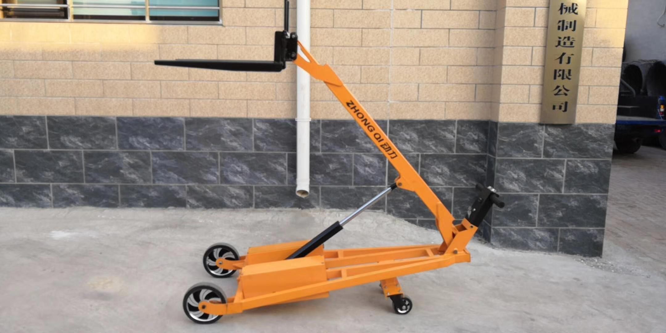湛江起重机手动液压叉车销售安装18319537898