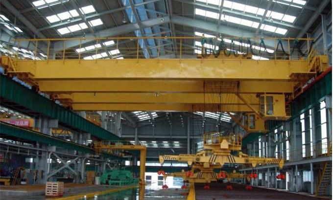 石家庄下旋转伸缩挂梁电磁桥式起重机机安装维修