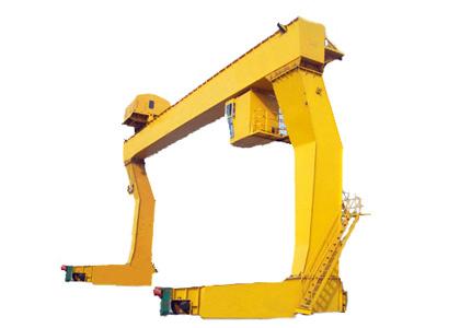 青岛起重、起重机械、起重机、L型单主梁吊钩门式起重机
