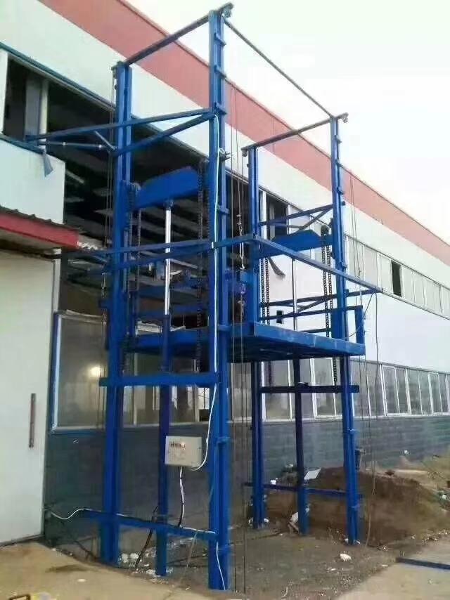 山西专业生产液压货梯和升降货梯配件液压油缸泵站