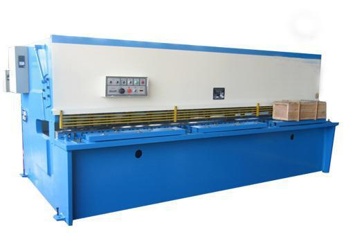 液压摆式剪板机的工作原理