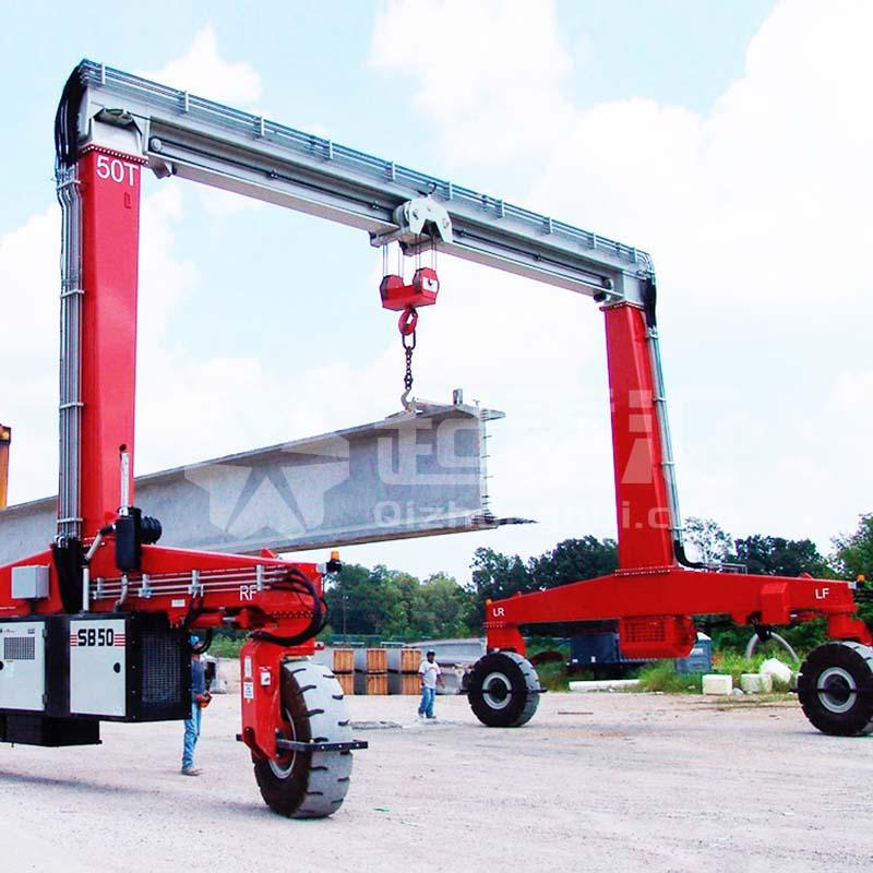 厂家直销杭州轮胎式集装箱起重机