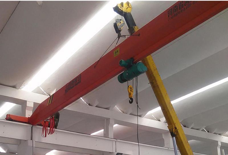 杭州LB型防爆电动单梁起重机安装制造