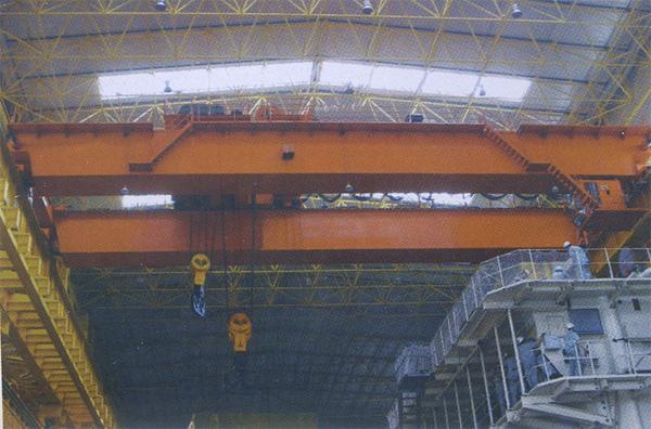 马鞍山75-25吊钩桥式起重机
