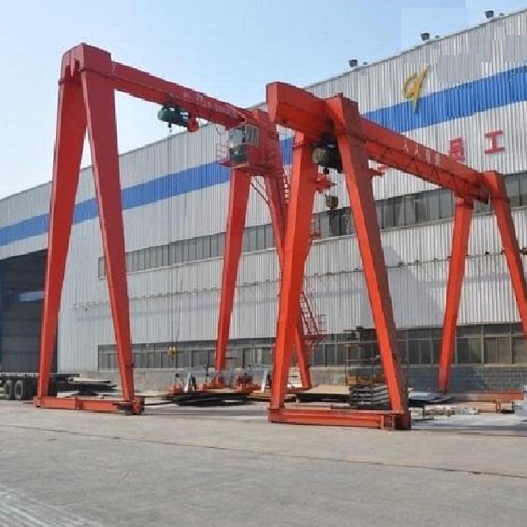 上海MH型电动葫芦门式起重机双梁桁架吊钩设备龙门吊生产厂家