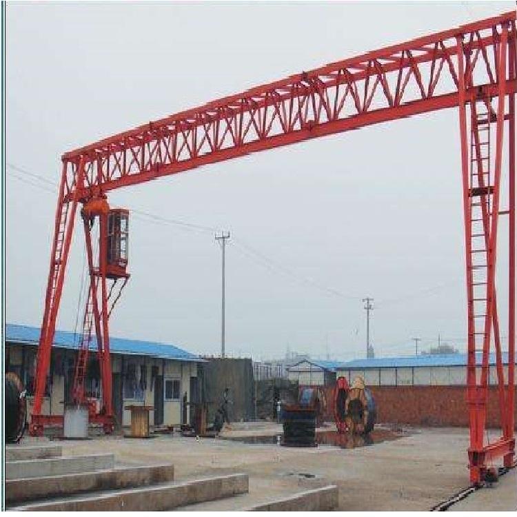 上海定做MG型电动双梁花架吊钩门式起重机设备龙门吊厂家直销