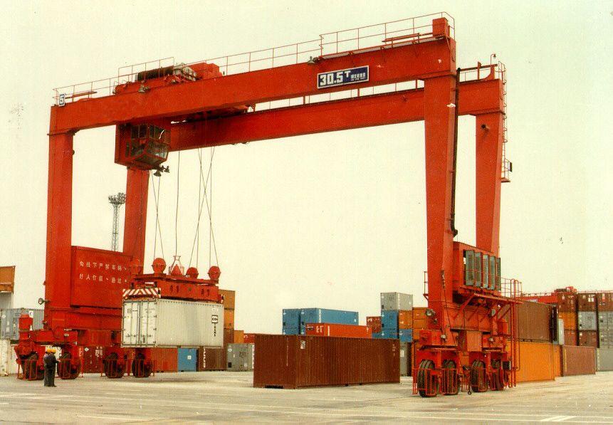 浙江杭州集装箱式起重机性能稳定
