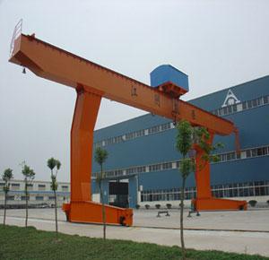 杭州安装制造起重机-MDG型单主梁吊钩门式起重机