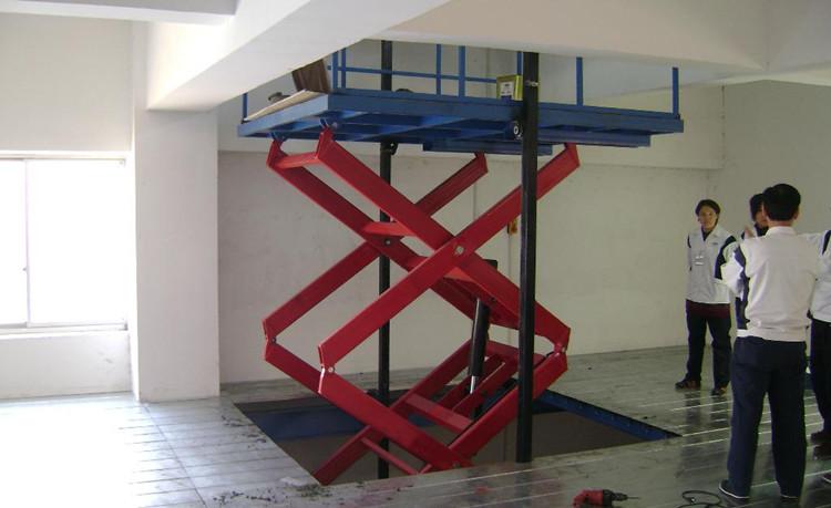 振阳固定式升降平台.液压升降机..家用升降货梯