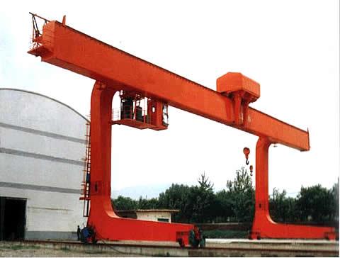 重庆安装维修一条龙-MDG型单梁吊钩门式起重机