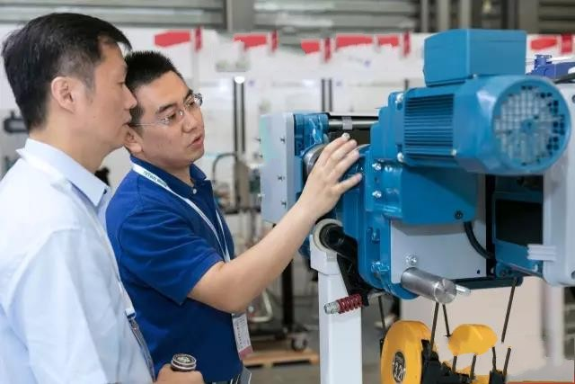 客户了解欧式电动葫芦德马格起重机(惠州)有限公司