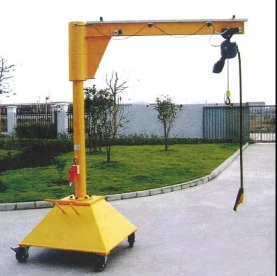 无锡安装制作可移动悬臂吊
