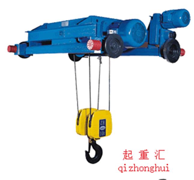 河南一體式電動葫蘆展示供應廠家