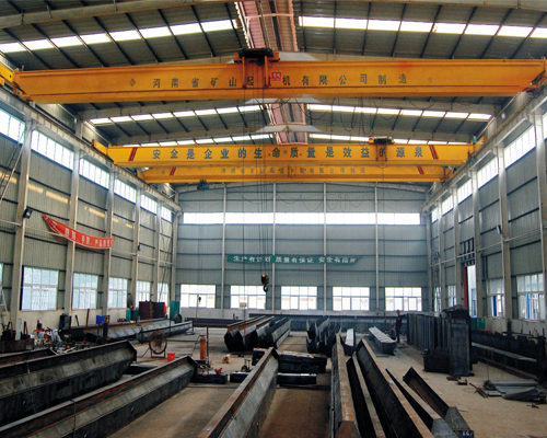 雄安新区LDP型电动单梁起重机-河南省矿山分公司
