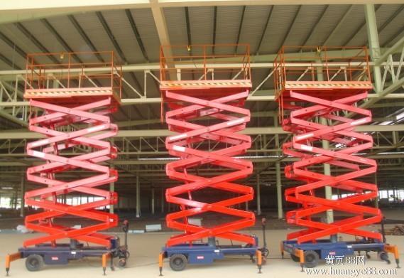 河南郑州液压升降机导轨式液压升降平台质优价廉