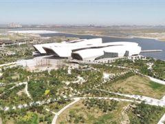 南湾滨水景观区已初现雏形 预计年底建成投用