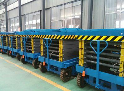 河南厂家订制液压升降机升降平台货梯量大从优