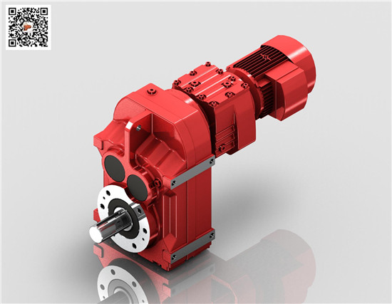 F平行轴斜齿轮减速机,迈传F67R37组合齿轮减速机厂家供应