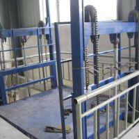 河南电动液压升降货梯 简易平台型号导轨式升降机家用电梯