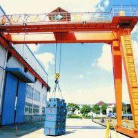 重庆长寿区销售MHB型半门式龙门吊