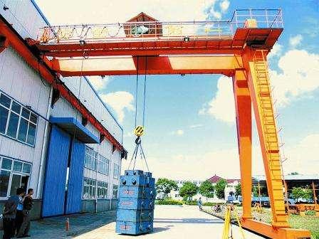 重庆江津区销售MHB型半门式龙门吊