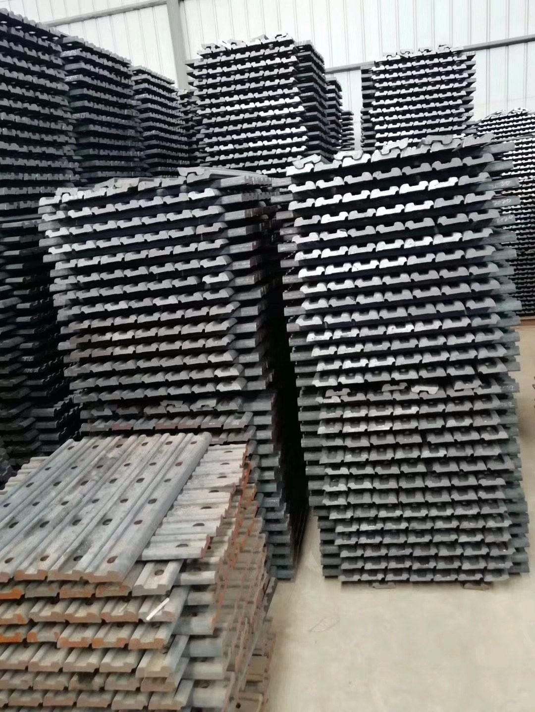 钢轨压板,轨道配件,道轨夹板,宏鑫厂家直销