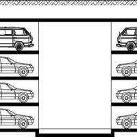 升降横移机械式立体停车库的工作原理介绍