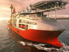 武船打造全球救助打捞大国利器—国内最先进深潜水工作母船在开工