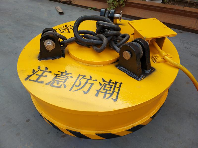 河南力之泰电磁吸盘准备发货中提醒客户注意防潮