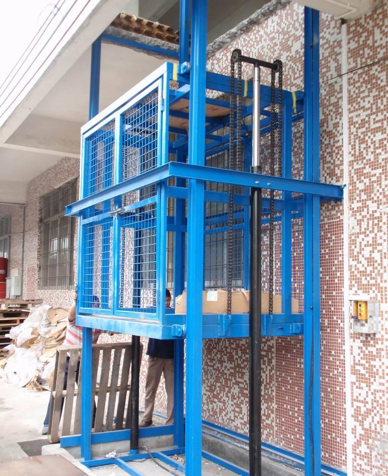 河南省桔子起重机械有限公司专注好货梯发货快